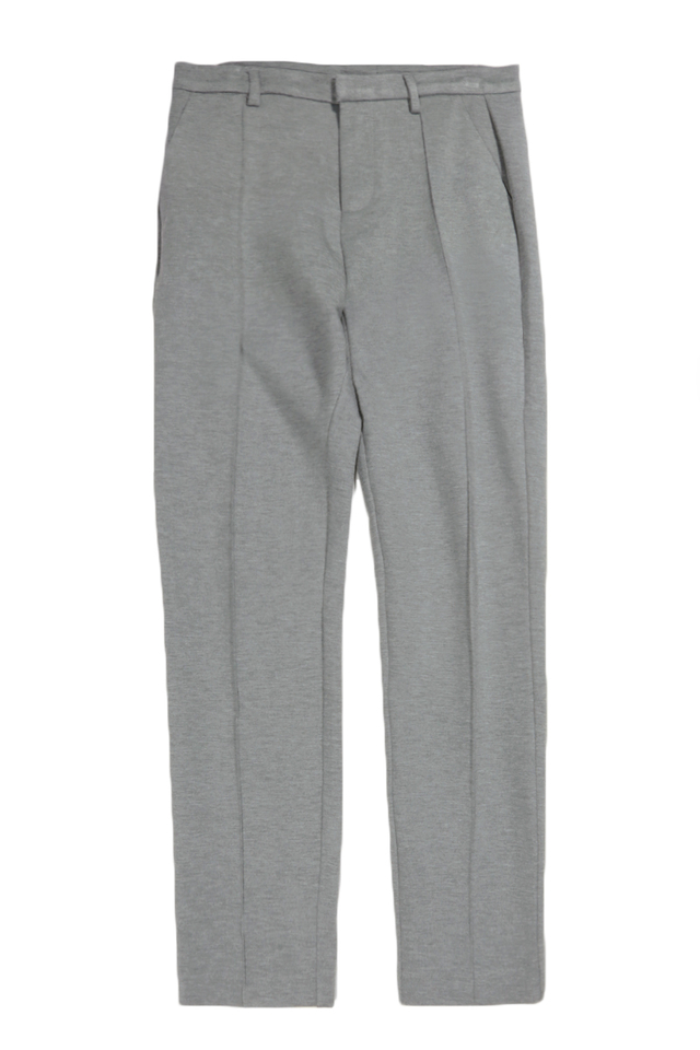 ANDERS CENTRE STITCH TROUSERS IN GREY