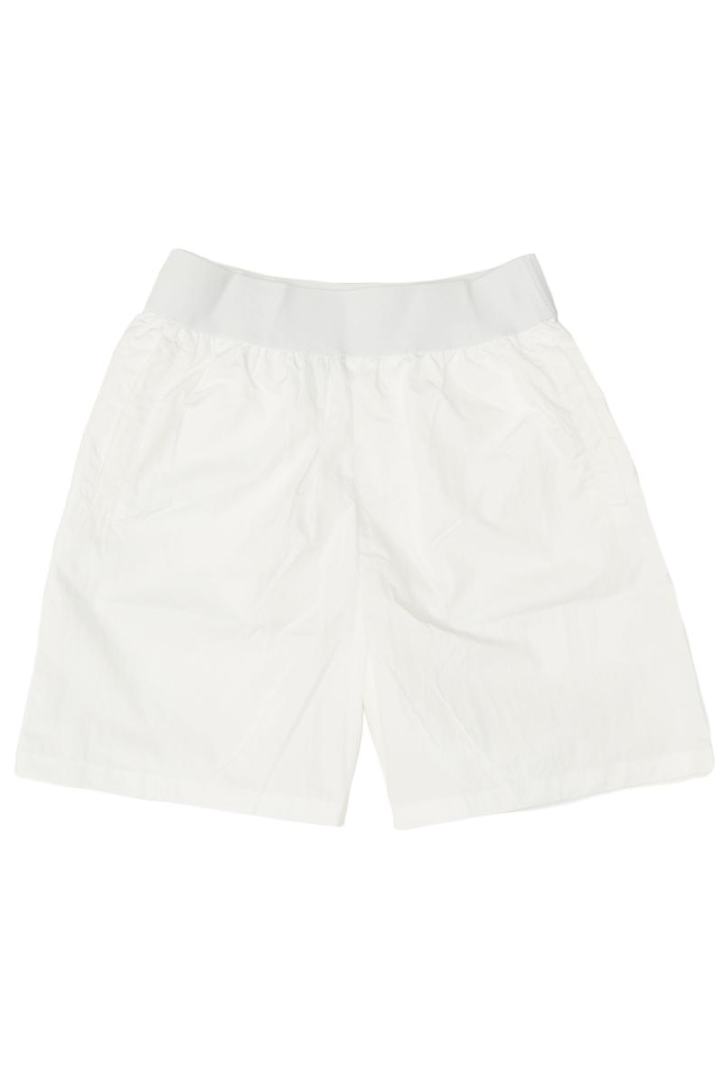 ARCADE x VINCEFURUKAWA NYLON SHORTS IN WHITE