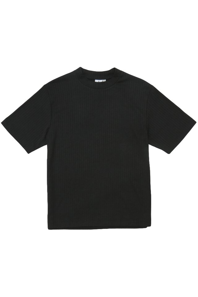 SETH HIGH NECK TOP IN BLACK