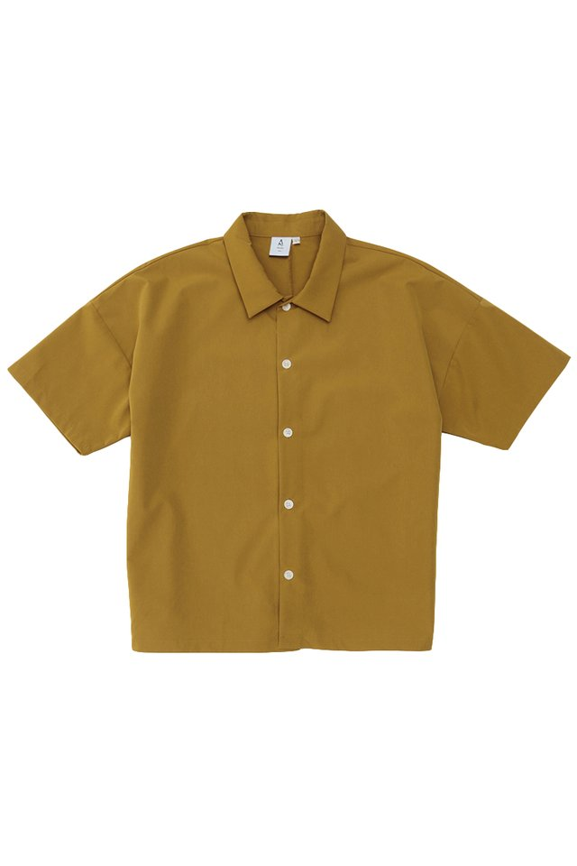 DAMON DROP SHOULDER SHIRT IN MUSTARD