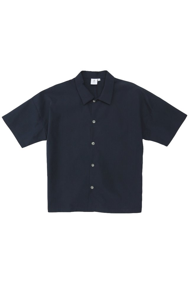 DAMON DROP SHOULDER SHIRT IN NAVY