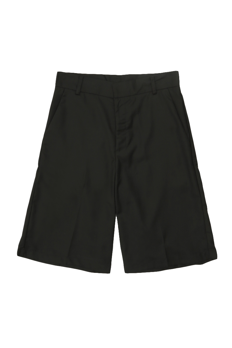 QUENTIN TAILORED SHORTS IN BLACK