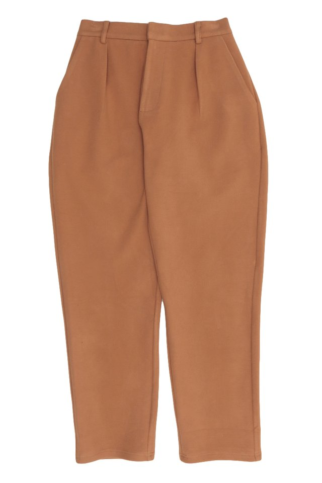 HEATH TAPERED-FIT TROUSERS IN CITRUS