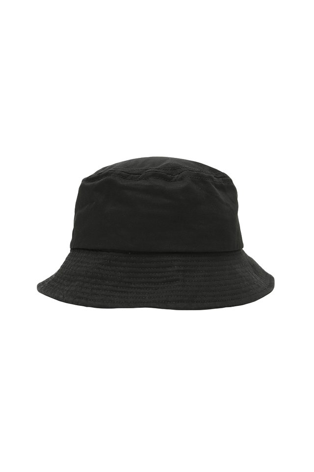 ARCADE TWILL BUCKET HAT IN BLACK