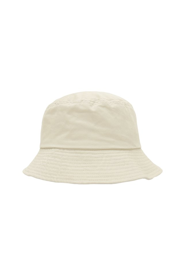 ARCADE TWILL BUCKET HAT IN CREAM