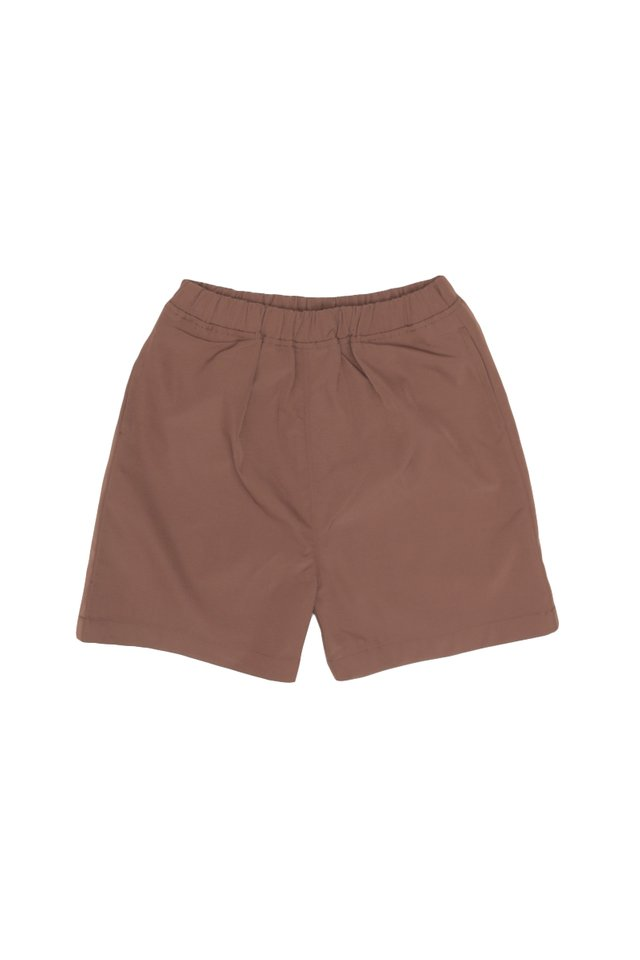 EDDY NYLON SHORTS IN CEDAR