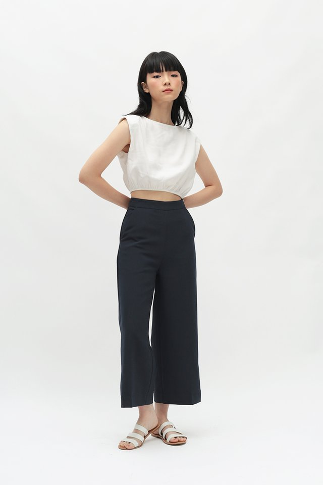 KYE CULOTTES IN DARK NAVY