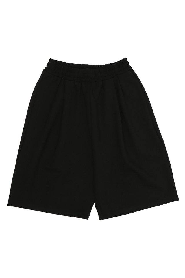 SILAS TRACK SHORTS IN BLACK