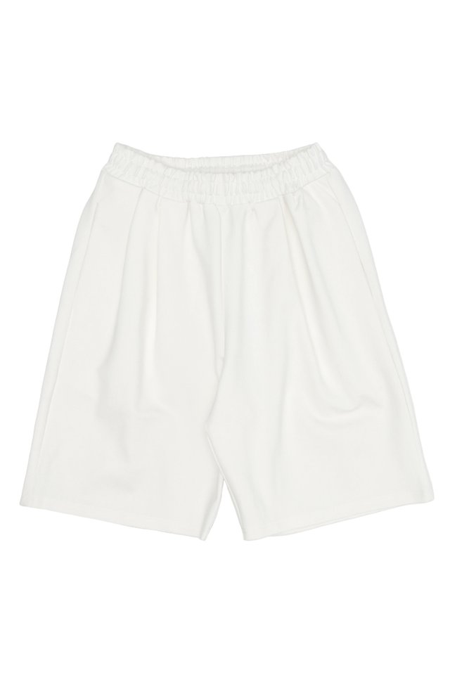 SILAS TRACK SHORTS IN WHITE