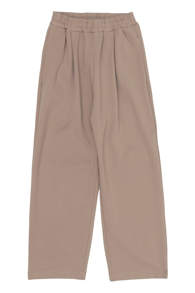 URIAH TRACK TROUSERS IN CLAY