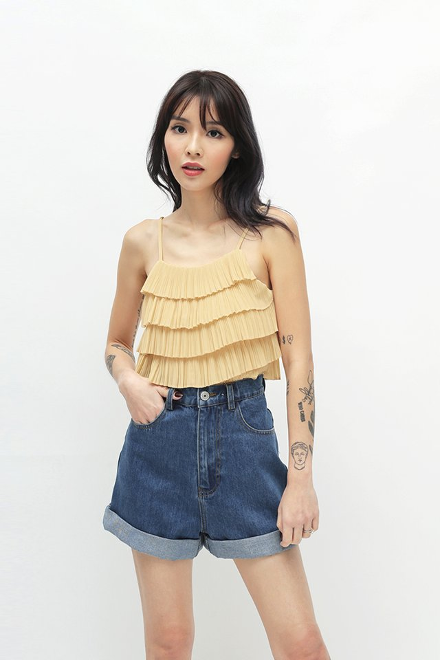 TALLULAH TIER TOP IN BUTTERCUP
