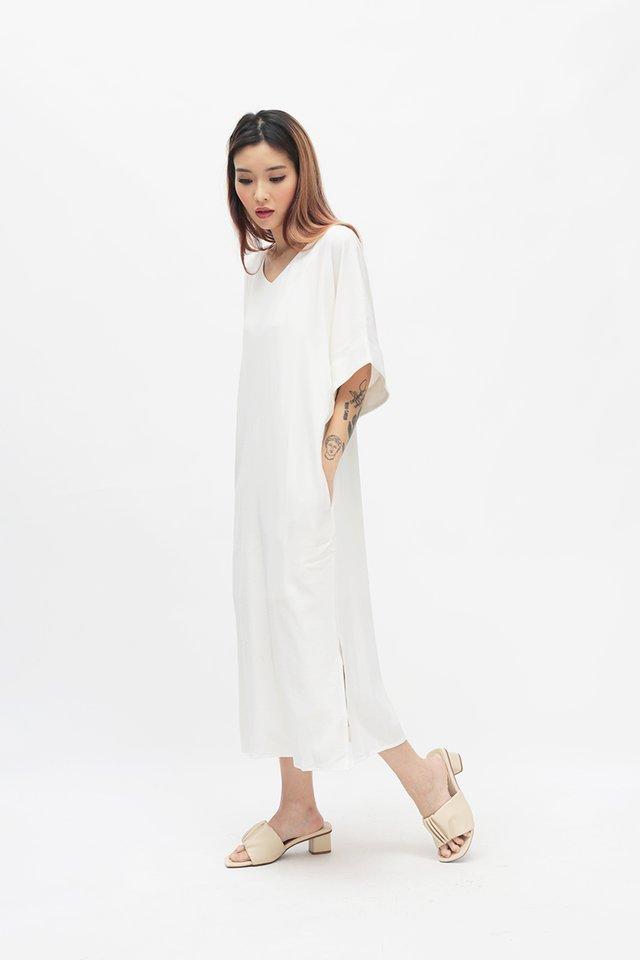 TILLEY PILGRIM DRESS IN WHITE