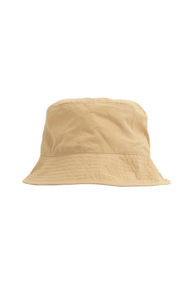 ARCADE REVERSIBLE BUCKET HAT IN KHAKI/VANILLA
