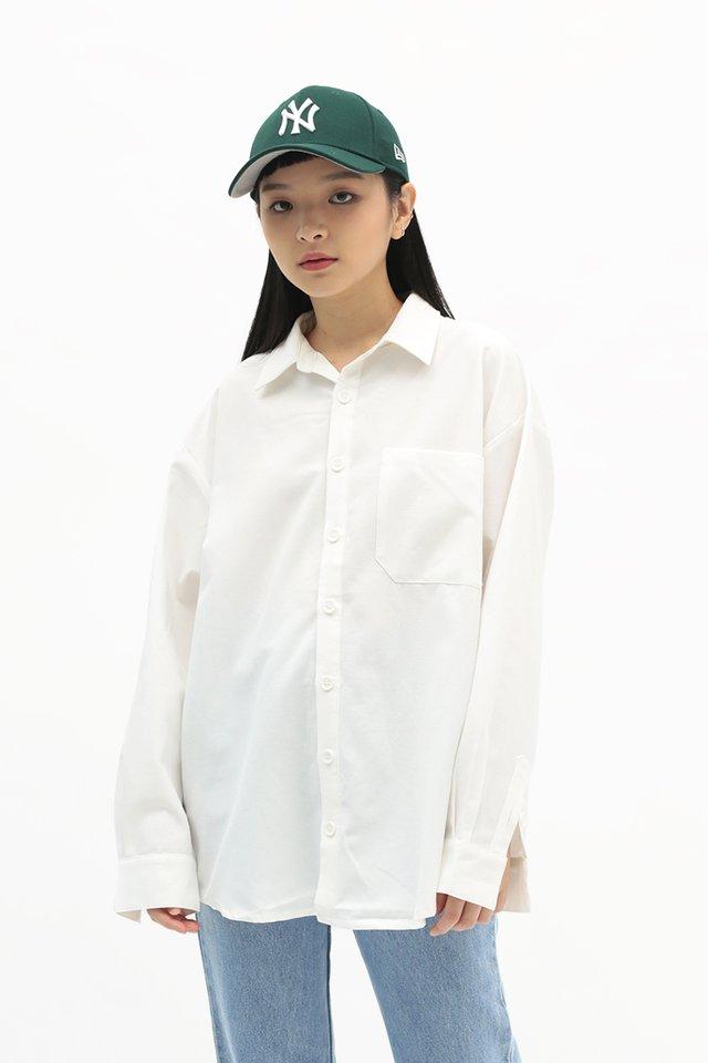 LARSON SHIRT IN WHITE