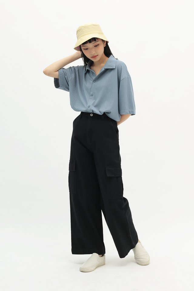 BLAKELY RELAXED FIT JEANS IN BLACK