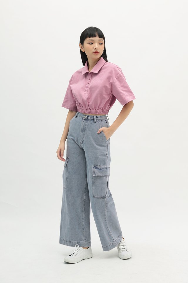 BLAKELY RELAXED FIT JEANS IN MID WASH