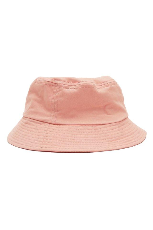 ARCADE TWILL BUCKET HAT IN PINK